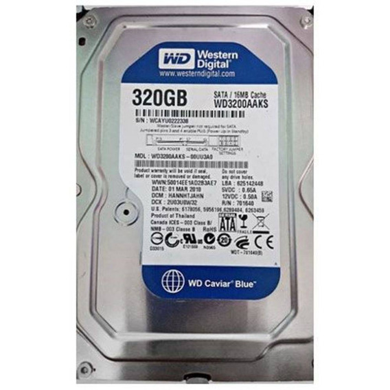 Hd 320gb Western Digital