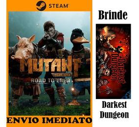 Mutant Year Zero: Road To Eden Pc Original Steam + Brinde