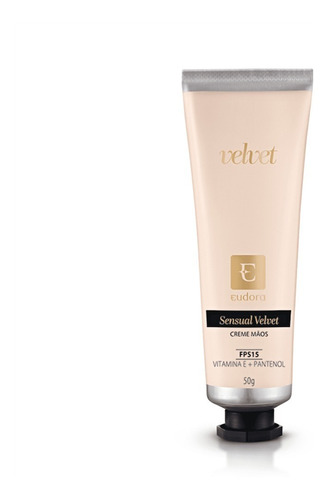 Creme Desodorante Hidratante Para Maos Sensual Velvet Fps 15