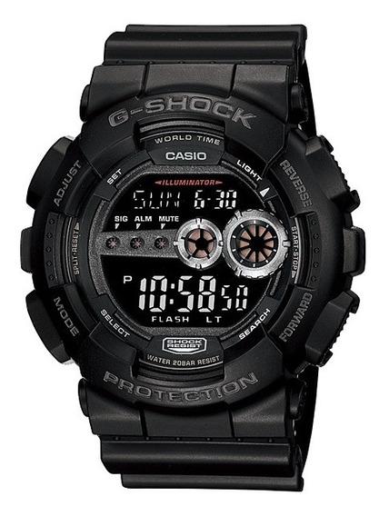 Relógio Casio G-shock Masculino Digital Gd-100-1bdr