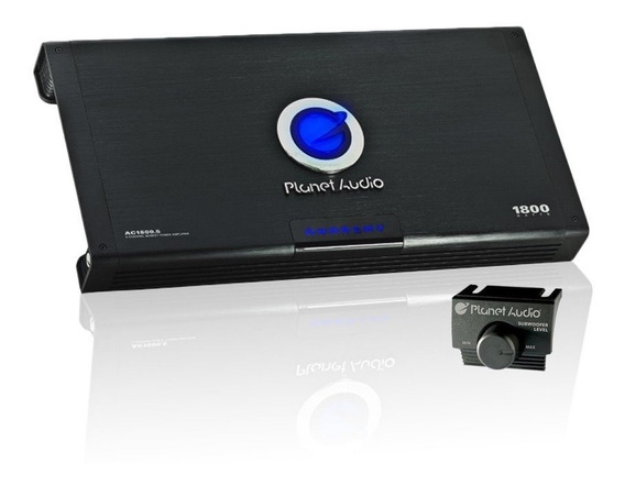 Módulo Planet 1800 Rms 5 Canal + Subwoffer 311 Pioneer