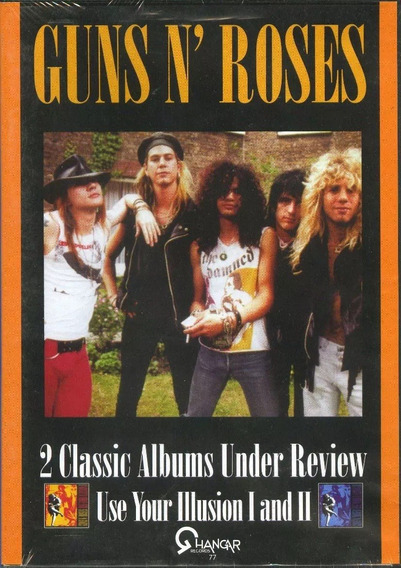Guns N Roses - Use Your Illusion Under Review Dvd Orig Nuevo