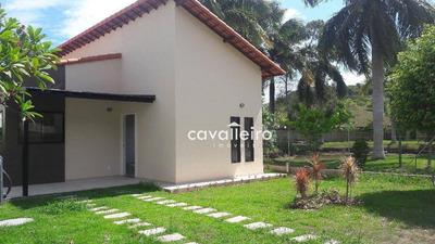Casa 3 Quartos (1 Suíte), Lindo Condomínio - São José - Maricá - Ca2293