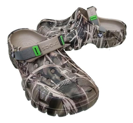 Calzado Crocs Yukon Camuflada