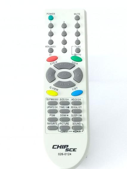 Controle Tv Tubo Gradiente