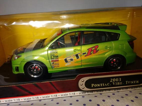 Miniatura Pontiac Tunner Verde 1/18 Yat Ming 2003