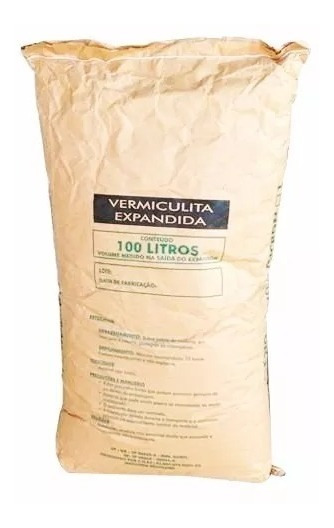 100 Litros De Vermiculita Expandida Fina - Germinar Sementes
