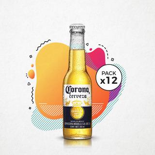 Cerveza Corona 355 Ml Pack 12 Botellas San Nicolas