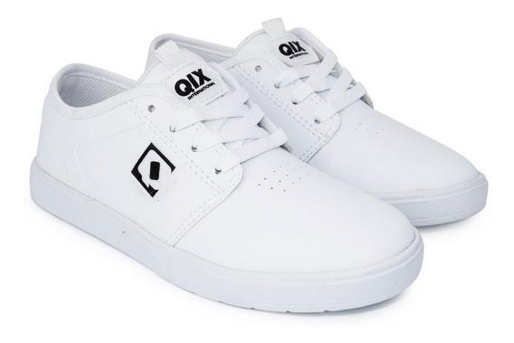 Tênis Qix Skate Combat Iii Branco Original Envio Imediato