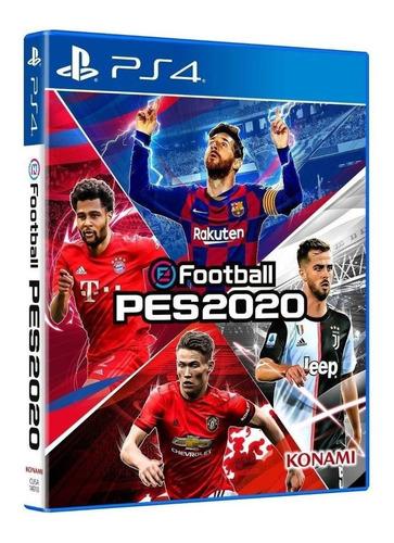 Imagen 1 de 3 de Pro Evolution Soccer 2020 Standard Edition Konami Digital Entertainment PS4 Físico