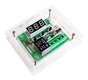 Termostato Controle Temperatura W1209 + Case Acrilico