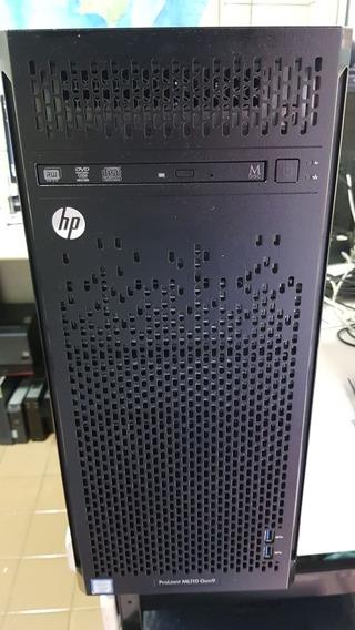 Servidor Hp Proliant Ml110 Gen9 Xeon E5-1603 V3 8gb 4tb Hd