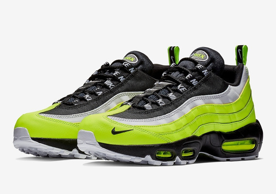 Zapatillas Nike Air Max 95 Prm Volt/black. A Pedido Usa