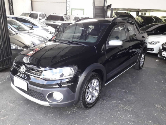 Blindado Volkswagen Saveiro Cross Dupla 1.6 Flex 2015 Preto