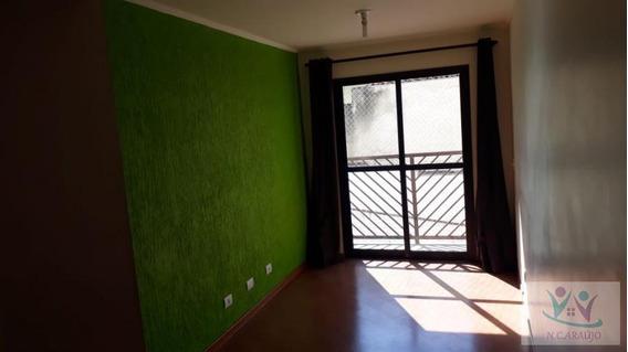 Apartamento Para Venda Em Mogi Das Cruzes, Parque Santana, 3 Dormitórios, 1 Banheiro, 1 Vaga - Ap0181_2-844340
