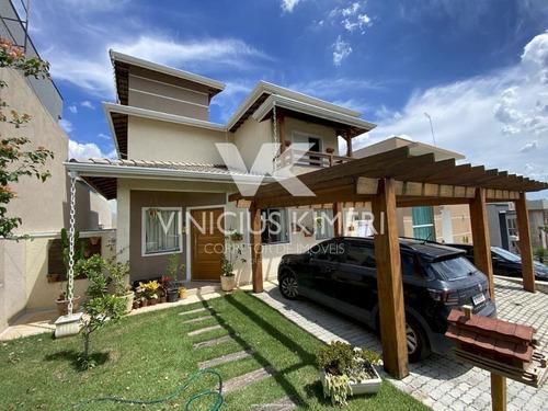 Casa Com 3 Dormitórios E Excelente Quintal Com Piscina No Condomínio Terras De Atibaia I - Atibaia/sp - Ca0286