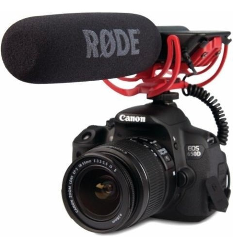 Videomic Rode Microfone Profissional Direcional