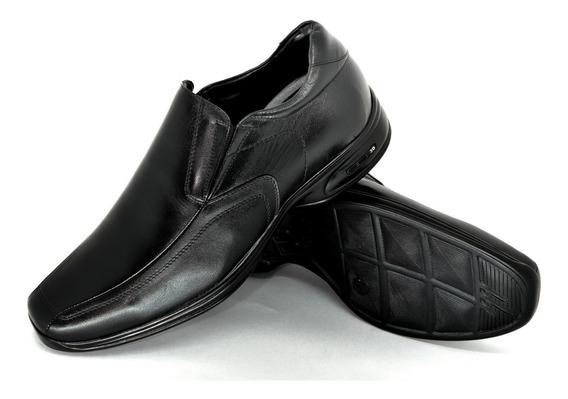 Sapato Jota Pe Couro 3d Conforto Salto Interno +6,5cm 79650