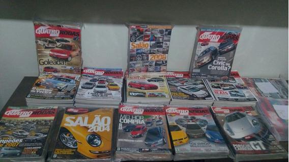 Revista Quatro Rodas - Lote Com 159 Edições 2004 A 2015