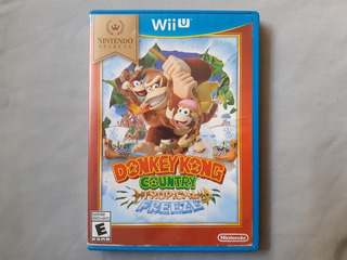 Donkey Kong Country Tropical Freeze Nintendo Select Wii U