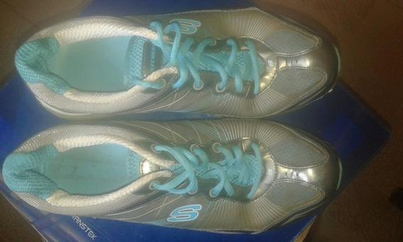 Zapatos De Goma Skechers Originales De Dama Talla 38