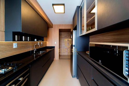 Apartamento Com 3 Dormitórios À Venda, 97 M² Por R$ 706.000,00 - Residencial Cannes - Sorocaba/sp - Ap0012