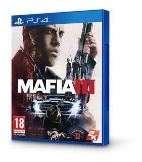 Mafia 3 Físico Para Ps4 (con Mapa Incluido)