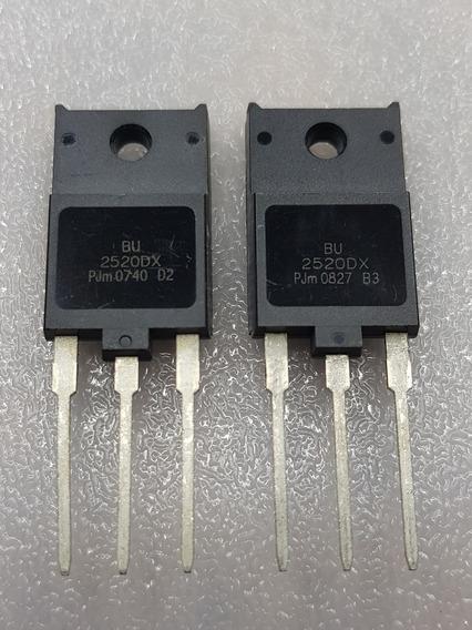 Transistor Bu2520dx Original Kit Com 2 Peças