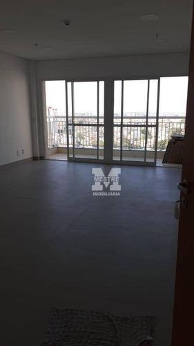 Imagem 1 de 6 de Sala Para Alugar, 37 M² Por R$ 1.693,02/mês - Centro - Guarulhos/sp - Sa0393