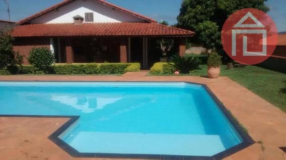 Chácara Com 3 Dormitórios À Venda, 1100 M² Por R$ 450.000 - Bairro Do Godoy - Bragança Paulista/sp - Ch0118