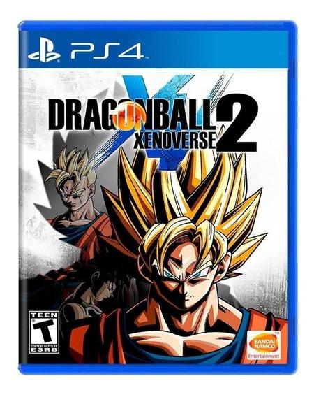 Dragon Ball Xenoverse 2 Ps4 Midia Fisica Novo Lacrado Portug
