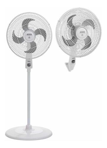 Ventilador 16puLG Airprotec Maxx 2 En 1 Blanco Samurai