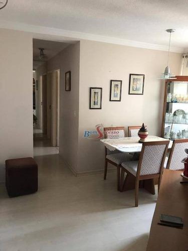 Apartamento Com 3 Dormitórios À Venda, 60 M² Por R$ 360.000,00 - Vila Formosa - São Paulo/sp - Ap2253