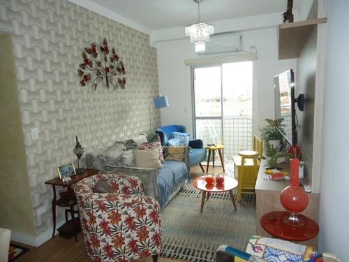 Apartamento Com 2 Dormitórios À Venda, 62 M² Por R$ 450.000,00 - Boqueirão - Santos/sp - Ap5270