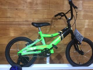 Bicicleta Domi Zeus De Varon Rodado 16 Con Rueditas
