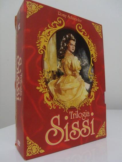 Box Sissi ( Trilogia Completa) - Romy Schneider - Original