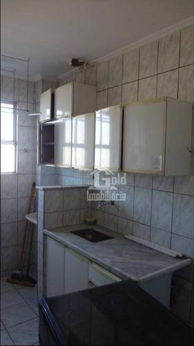 Apartamento Com 3 Dormitórios Para Alugar, 59 M² Por R$ 800/mês - Campos Elíseos - Ribeirão Preto/sp - Ap3045
