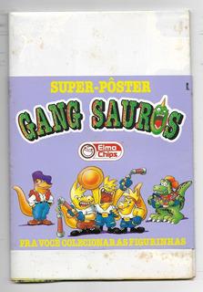 *sll* Album Super Pôster - Elma Chips - Gang Sauros Completo
