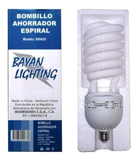 Bombillo Ahorrador Espiral 110v 60hz Marca Bayan Lighting