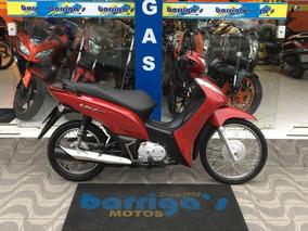 Honda Biz Es 125cc Ano 2014 Verm.toda Revisada Com Manual E