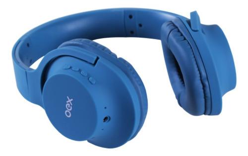 Fone De Ouvido Bluetooth Oex Flow Hs307 - Azul