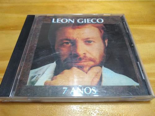 7 Años - Gieco - Music Hall, 1994 - Cd - U
