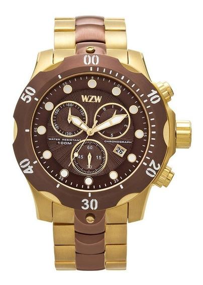 Relógio De Pulso Wzw Casual 7239