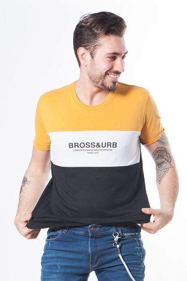 Remera Bross Tricolor