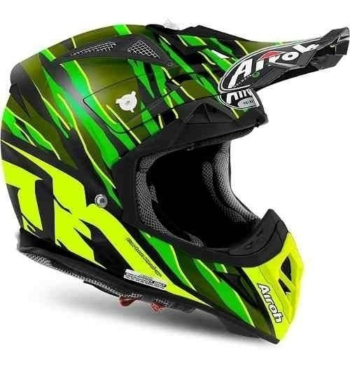 Capacete Airoh Motocross Aviator 2.2 Threat