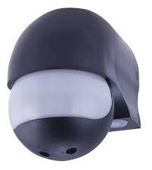 4 Un. Sensor De Presença C/foto Célula Cor Preto (moderno)