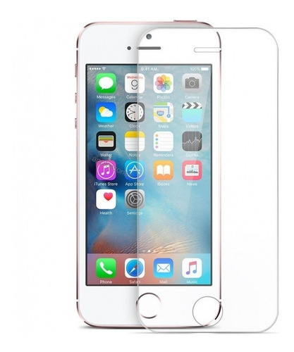 Imagen 1 de 8 de Protector Vidrio Templado iPhone 5 6 6 Plus 7plus 8 Plus