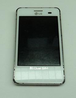 Celular Antigo. Celular Lg. Optimus. E405f. 2 Chips. Retirada De Peças