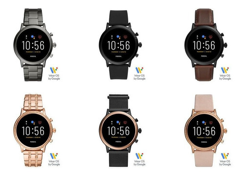 Fossil Smartwatch Gen 5 44mm Compatible Con Apple Y Androide