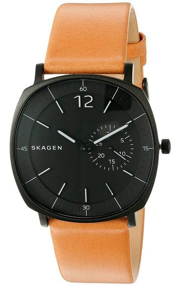 Relógio Skagen Couro - Skw6257/1pn